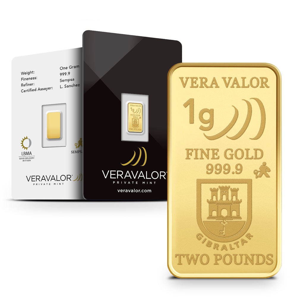 vera one Gibraltar et packaging