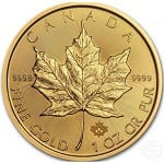 Maple Leaf 1 once 50 Dollars Canada