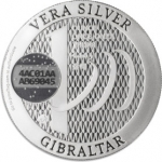 Vera Silver 1 once (Cours Légal - NON LSP) Gibraltar
