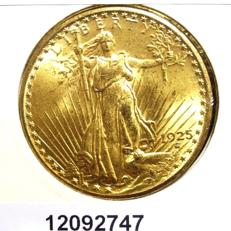 Réf. 12092747 20 Dollars US (Double Eagle)  Liberty de Saint-Gaudens - Twenty Dollars - AVERS