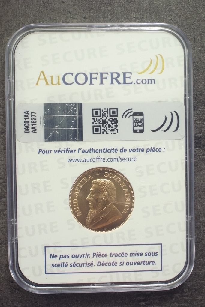 Réf. 19093063 Krugerrand 1/4 once  Max Secure - AVERS