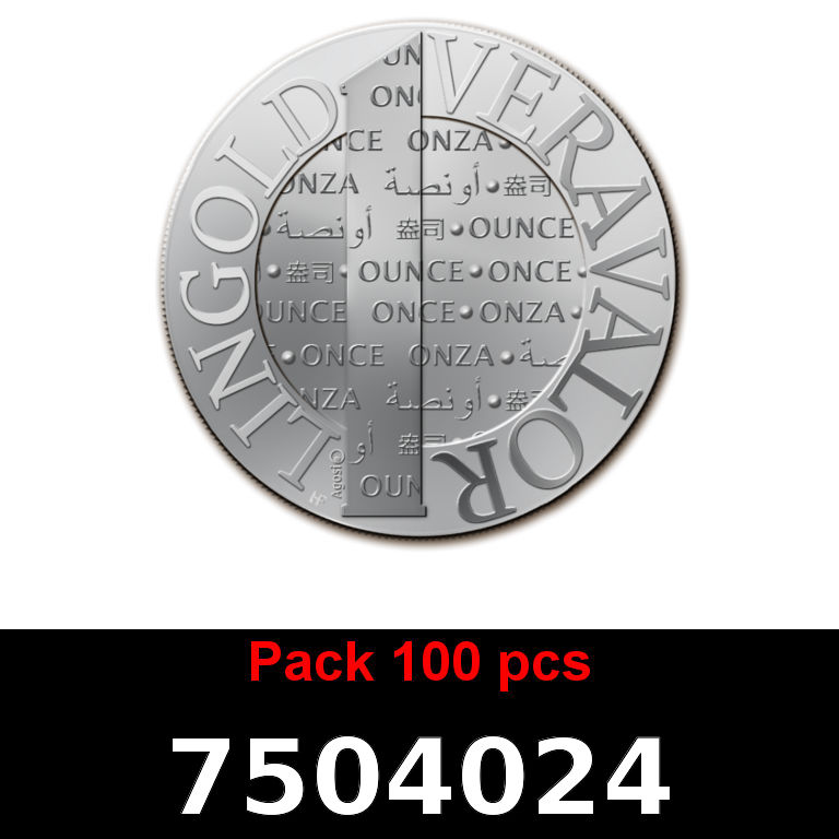 Réf. 7504024 Lot 100 Vera Silver 1 once (LSP - 40MM)  2015 - AVERS
