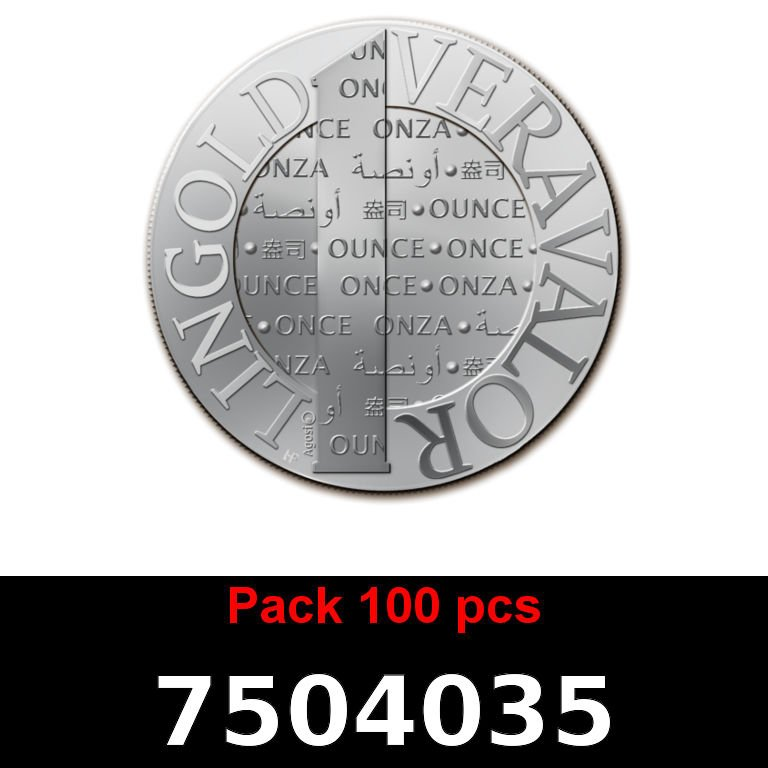 Réf. 7504035 Lot 100 Vera Silver 1 once (LSP - 40MM)  2015 - AVERS