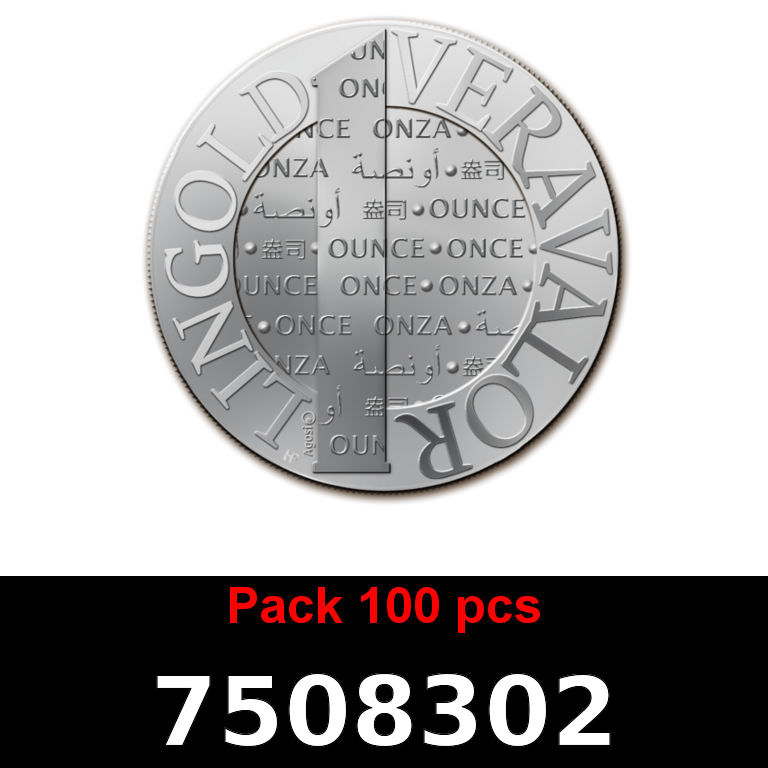 Réf. 7508302 Lot 100 Vera Silver 1 once (LSP - 40MM)  2015 - AVERS