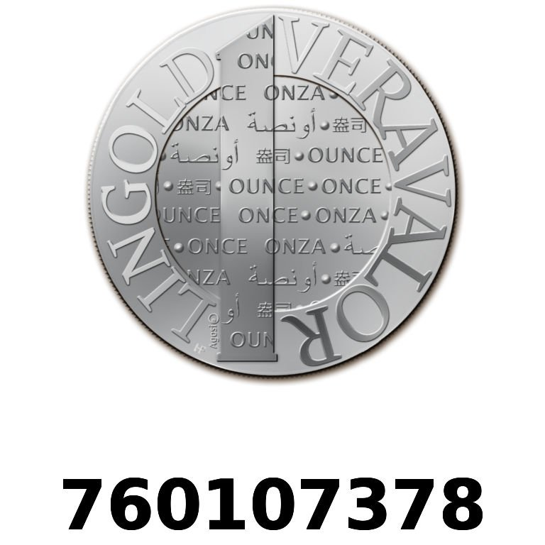 Réf. 760107378 Vera Silver 1 once (LSP)  2015 - AVERS