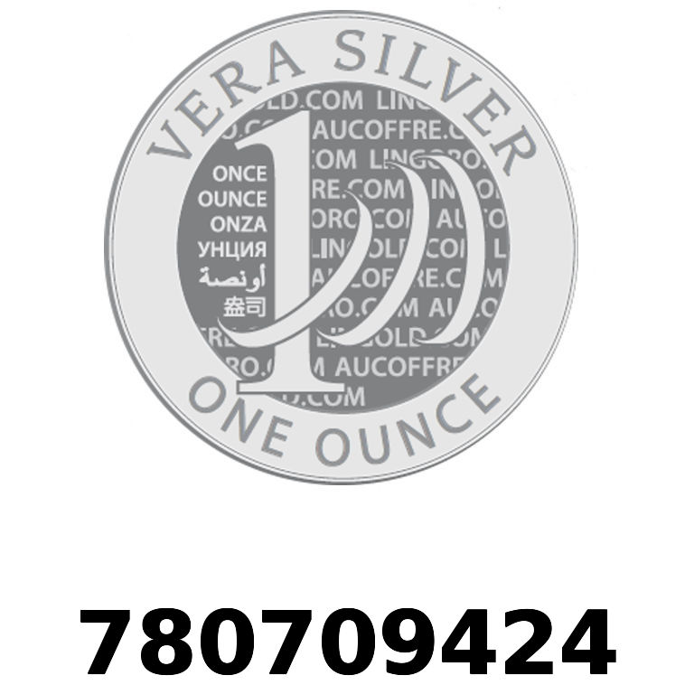Réf. 780709424 Vera Silver 1 once (LSP)  2018 - AVERS