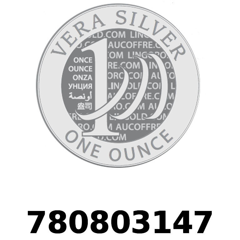 Réf. 780803147 Vera Silver 1 once (LSP)  2018 - AVERS