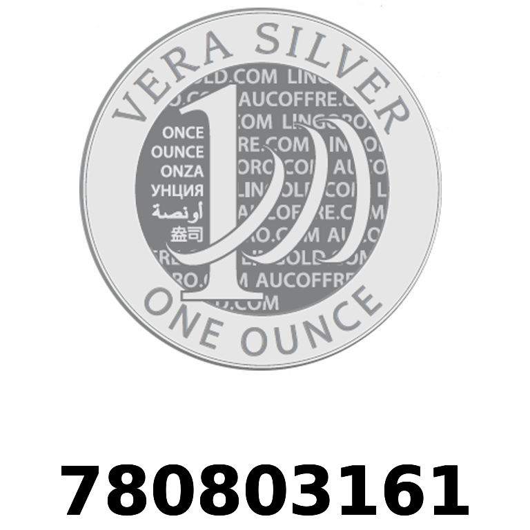 Réf. 780803161 Vera Silver 1 once (LSP)  2018 - AVERS