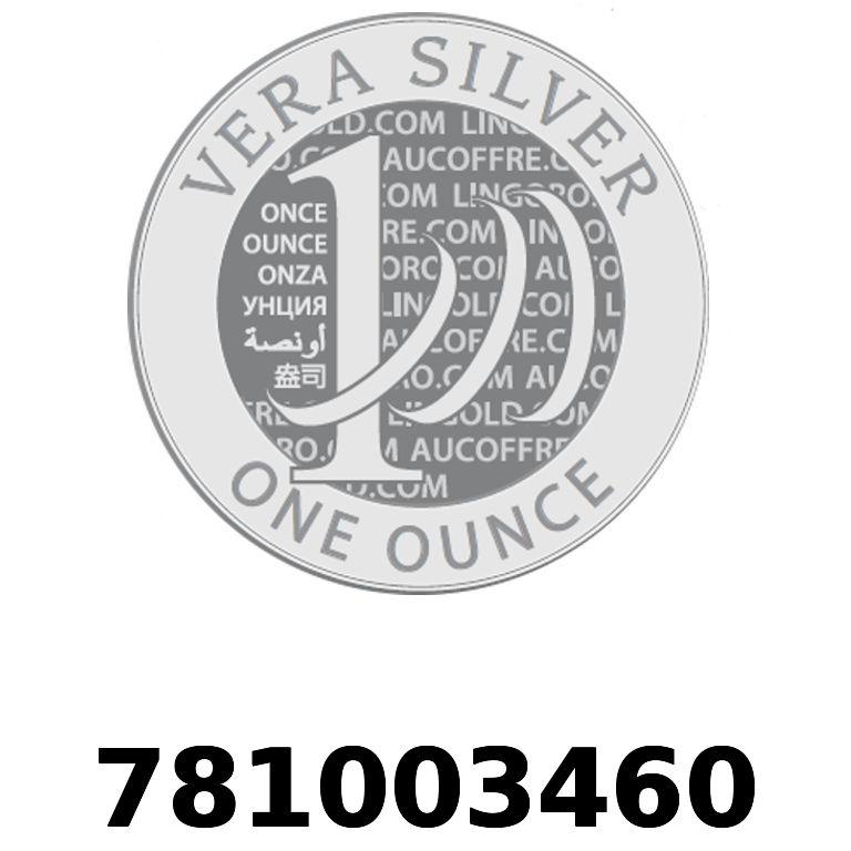 Réf. 781003460 Vera Silver 1 once (LSP - 40MM)  2018 - AVERS