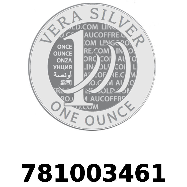 Réf. 781003461 Vera Silver 1 once (LSP - 40MM)  2018 - AVERS
