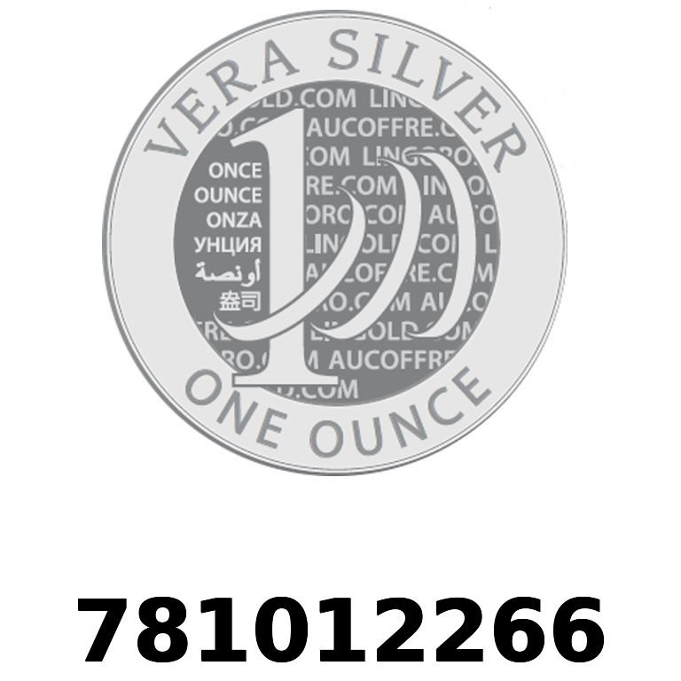 Réf. 781012266 Vera Silver 1 once (LSP - 40MM)  2018 - AVERS