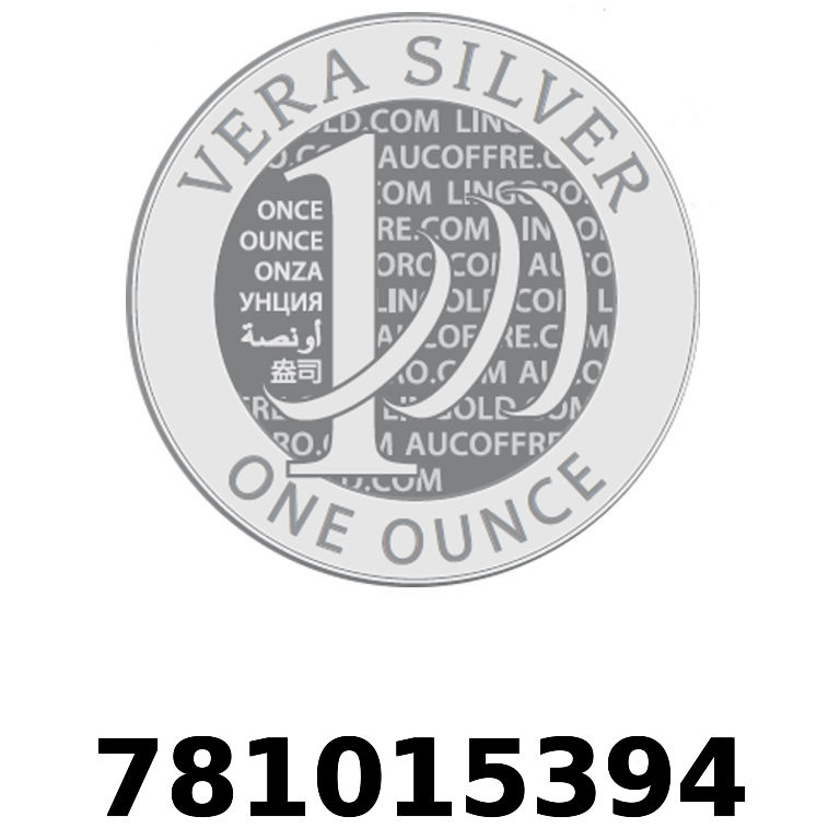 Réf. 781015394 Vera Silver 1 once (LSP)  2018 - AVERS