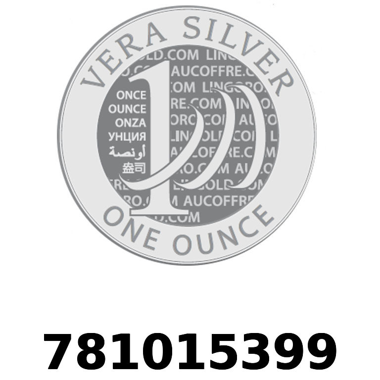 Réf. 781015399 Vera Silver 1 once (LSP)  2018 - AVERS