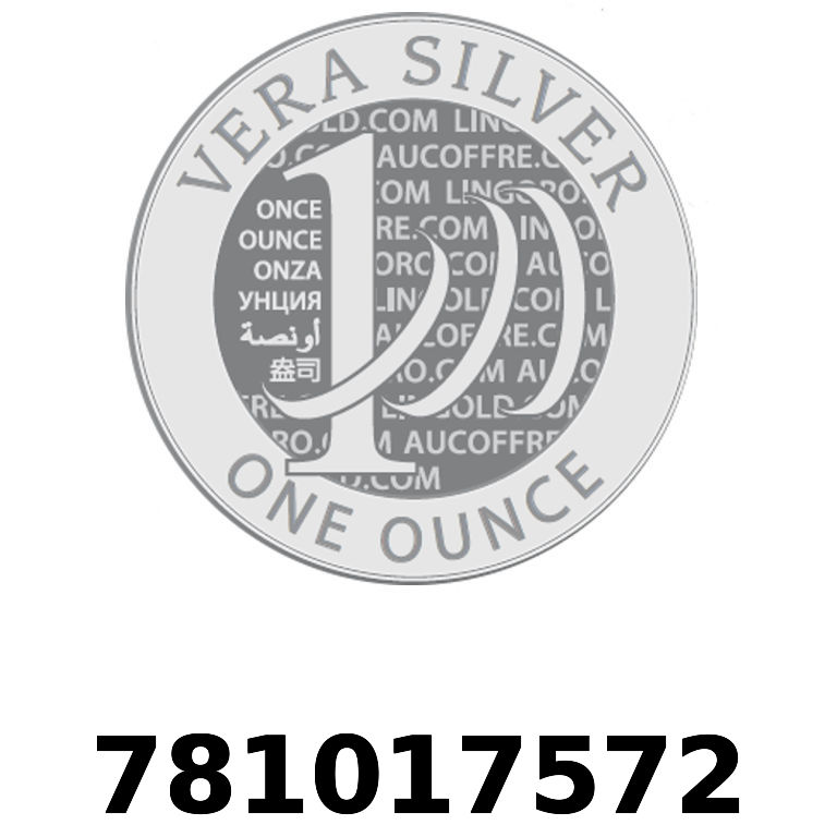 Réf. 781017572 Vera Silver 1 once (LSP)  2018 - AVERS