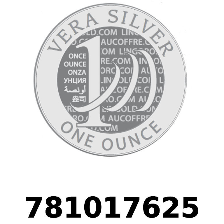 Réf. 781017625 Vera Silver 1 once (LSP - 40MM)  2018 - AVERS