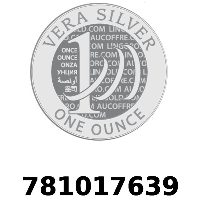 Réf. 781017639 Vera Silver 1 once (LSP)  2018 - AVERS