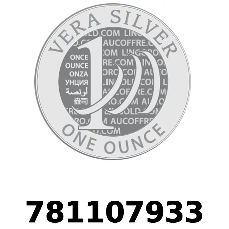 Réf. 781107933 Vera Silver 1 once (LSP)  2018 - AVERS