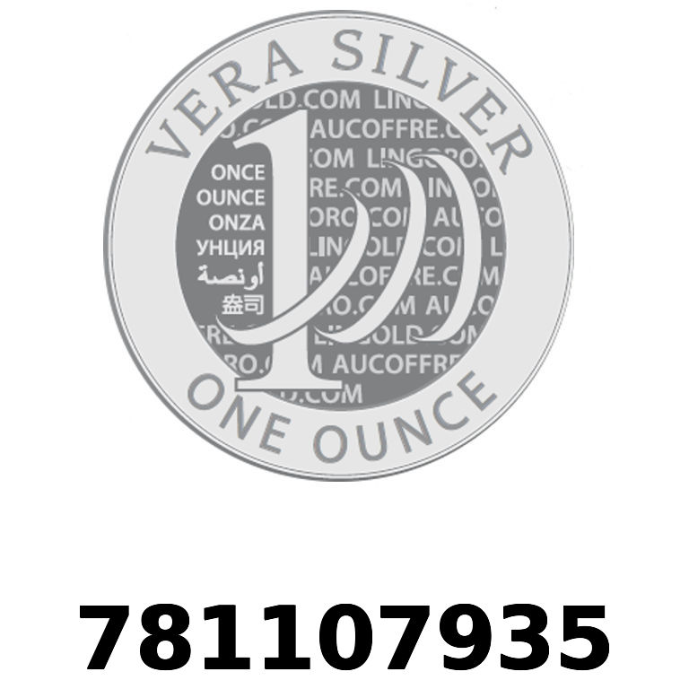 Réf. 781107935 Vera Silver 1 once (LSP)  2018 - AVERS