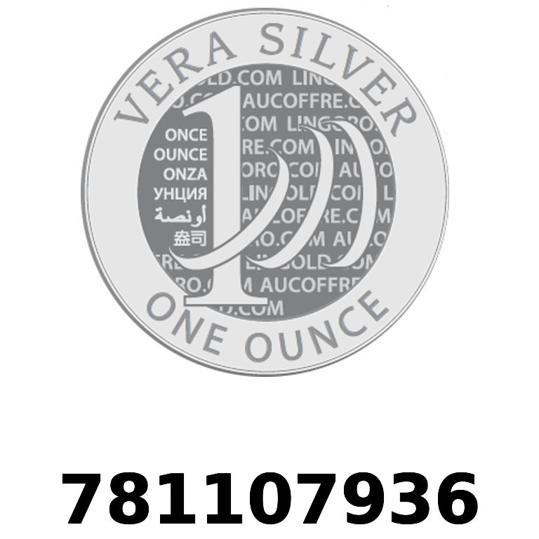 Réf. 781107936 Vera Silver 1 once (LSP)  2018 - AVERS