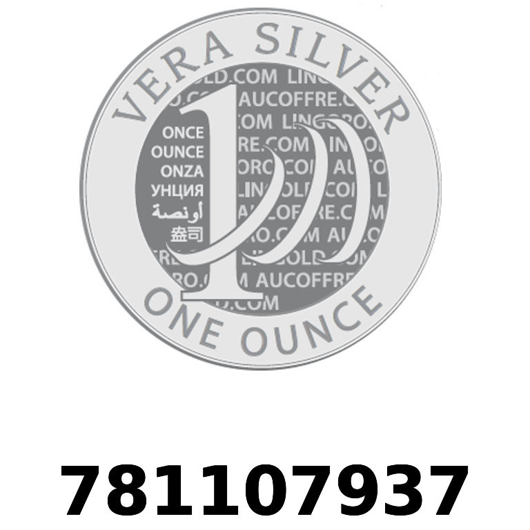 Réf. 781107937 Vera Silver 1 once (LSP)  2018 - AVERS