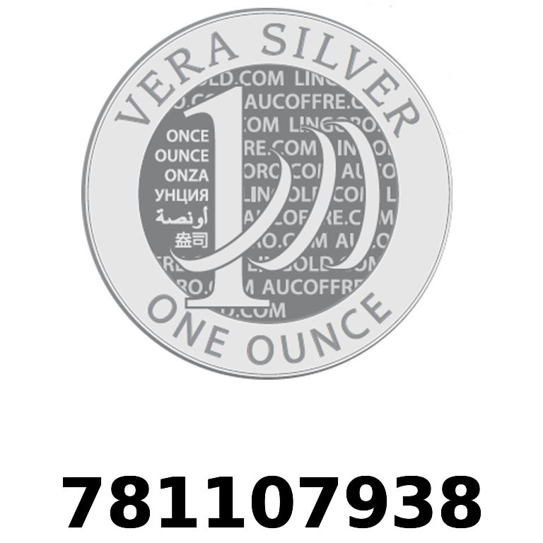 Réf. 781107938 Vera Silver 1 once (LSP)  2018 - AVERS