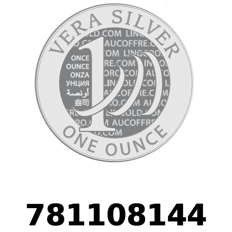 Réf. 781108144 Vera Silver 1 once (LSP - 40MM)  2018 - AVERS