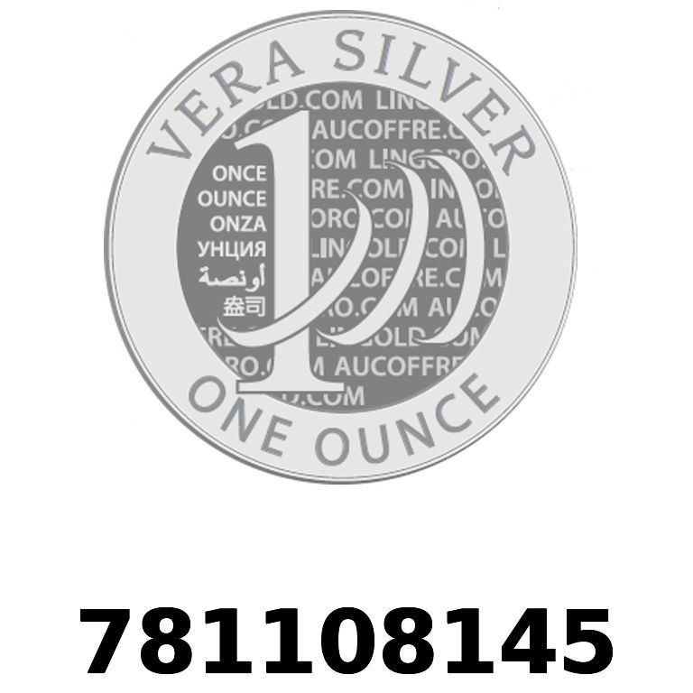 Réf. 781108145 Vera Silver 1 once (LSP - 40MM)  2018 - AVERS