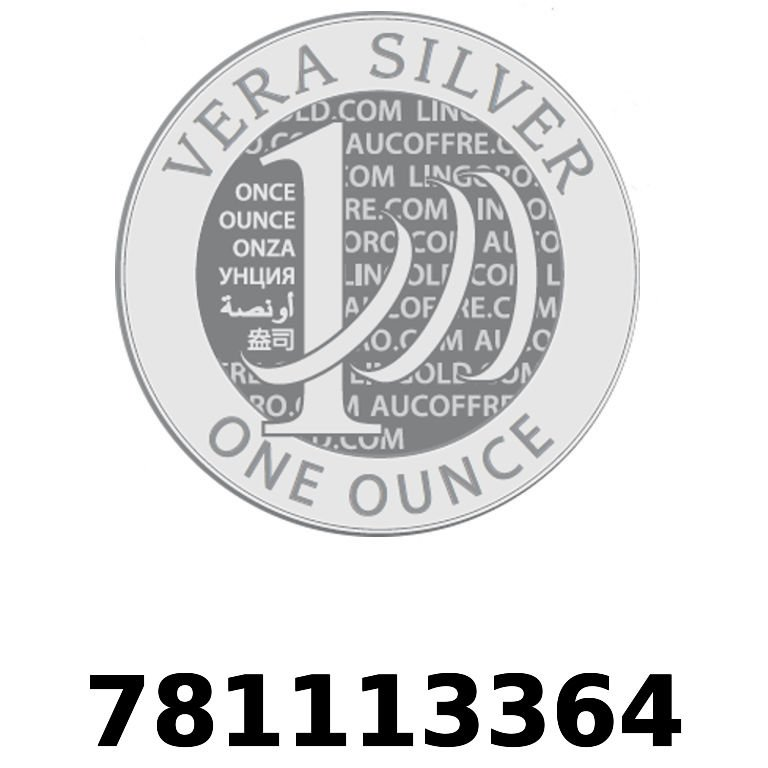 Réf. 781113364 Vera Silver 1 once (LSP)  2018 - AVERS
