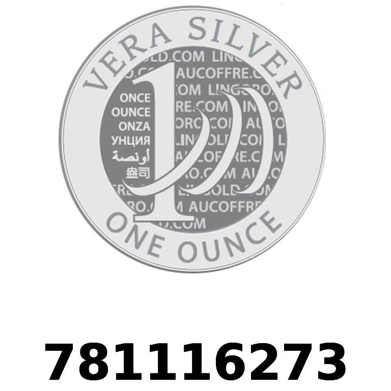 Réf. 781116273 Vera Silver 1 once (LSP - 40MM)  2018 - AVERS