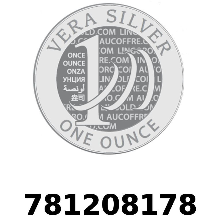 Réf. 781208178 Vera Silver 1 once (LSP)  2018 - AVERS