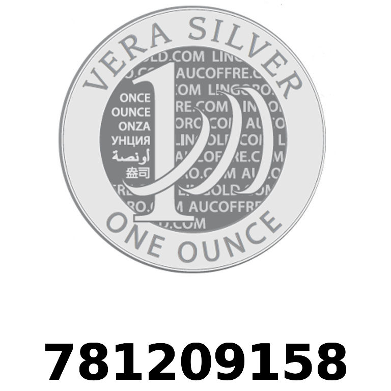 Réf. 781209158 Vera Silver 1 once (LSP - 40MM)  2018 - AVERS