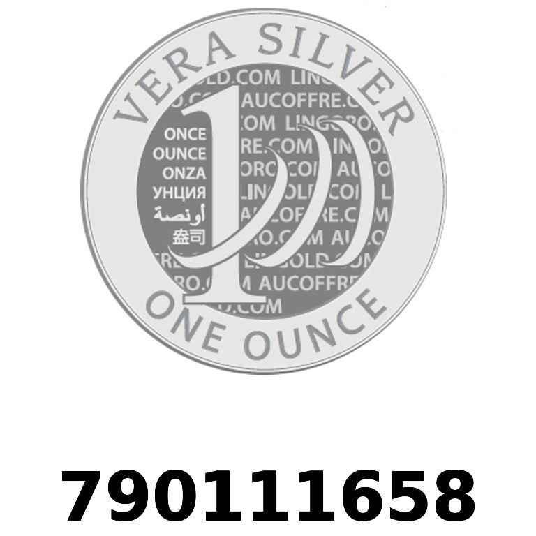Réf. 790111658 Vera Silver 1 once (LSP)  2018 - AVERS