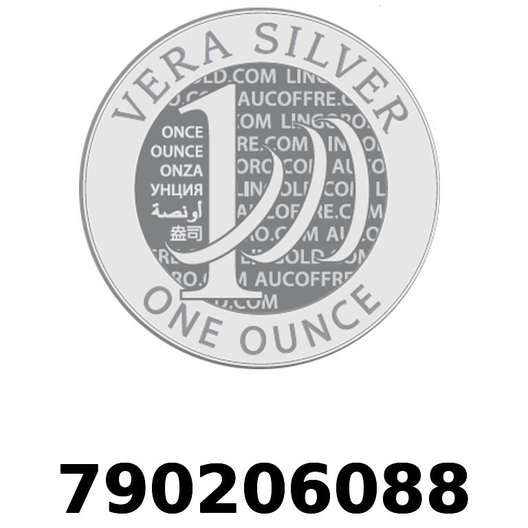 Réf. 790206088 Vera Silver 1 once (LSP - 40MM)  2018 - AVERS