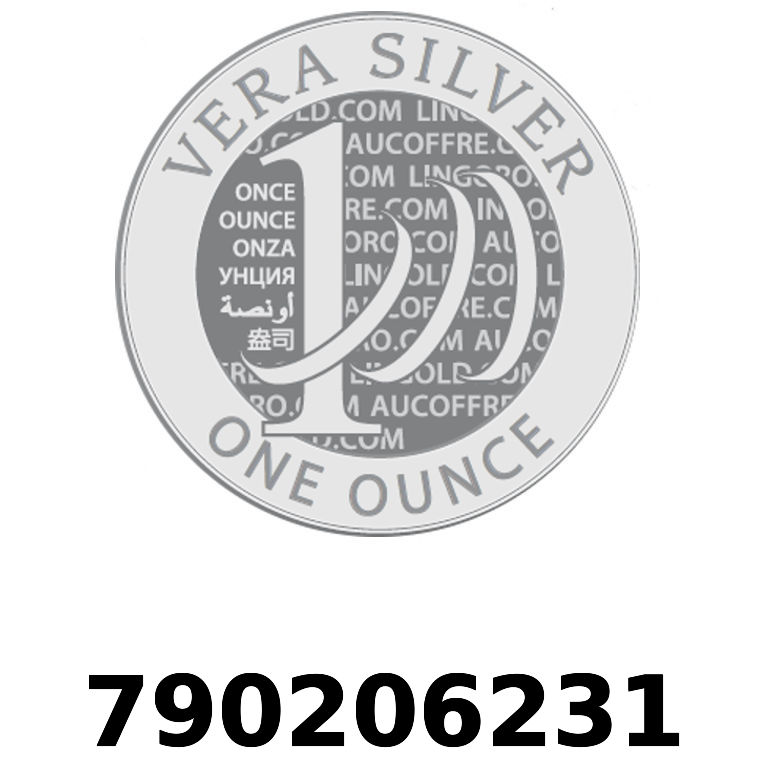 Réf. 790206231 Vera Silver 1 once (LSP - 40MM)  2018 - AVERS