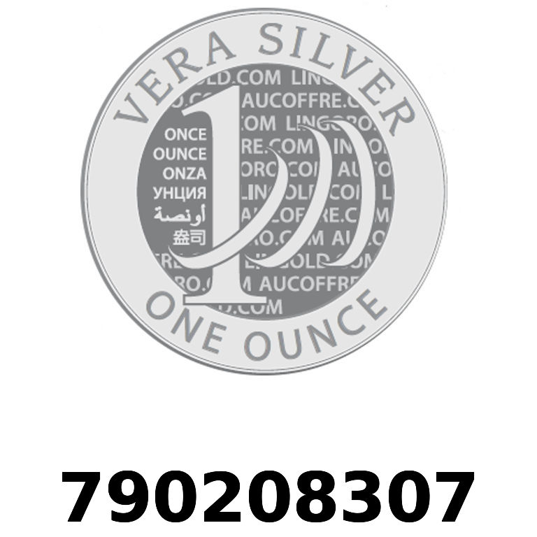 Réf. 790208307 Vera Silver 1 once (LSP)  2018 - AVERS