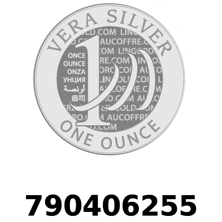 Réf. 790406255 Vera Silver 1 once (LSP)  2018 - AVERS