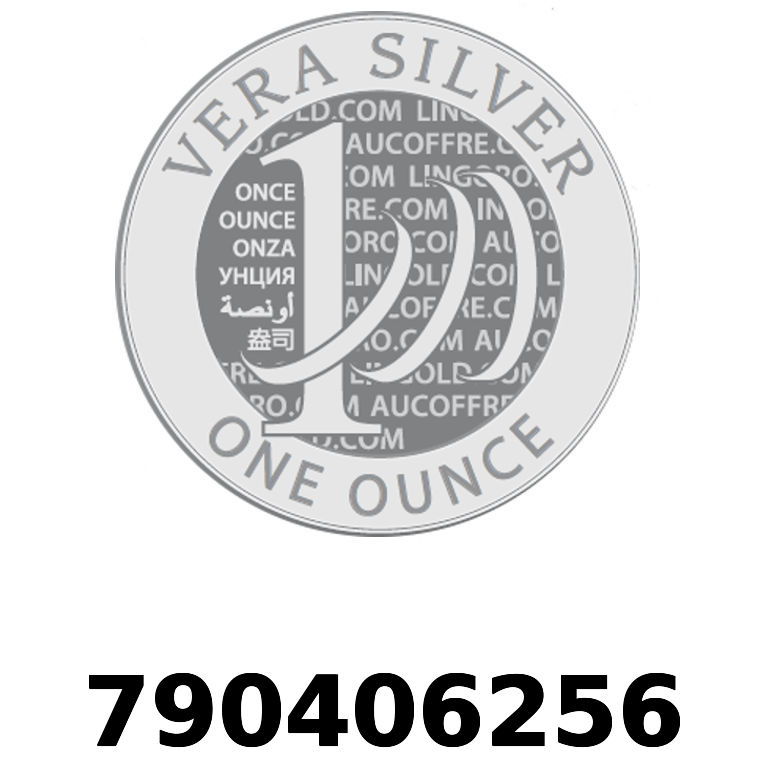 Réf. 790406256 Vera Silver 1 once (LSP)  2018 - AVERS