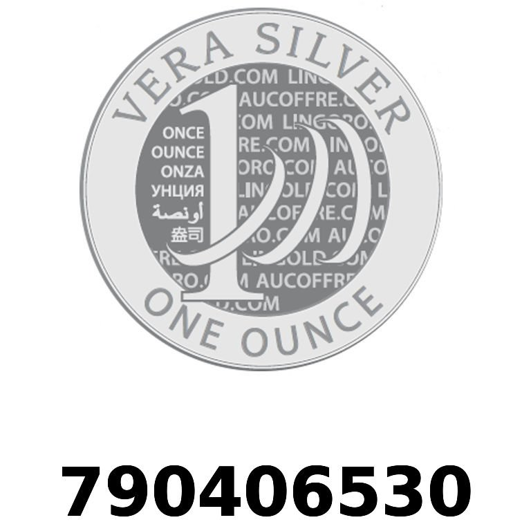 Réf. 790406530 Vera Silver 1 once (LSP - 40MM)  2018 - AVERS
