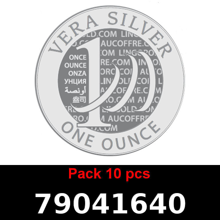 Réf. 79041640 Lot 10 Vera Silver 1 once (LSP)  2018 - AVERS