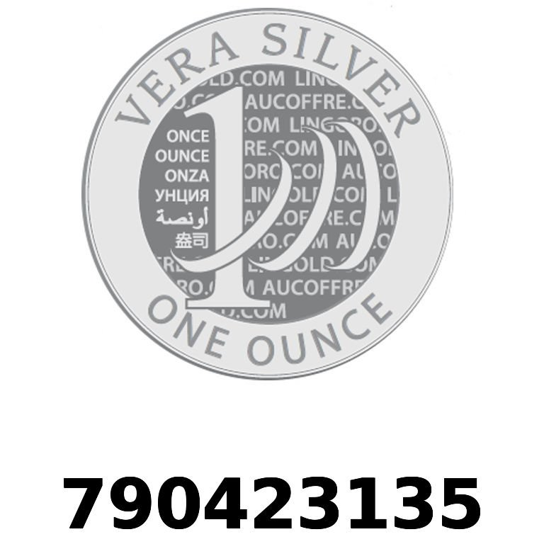 Réf. 790423135 Vera Silver 1 once (LSP)  2018 - AVERS