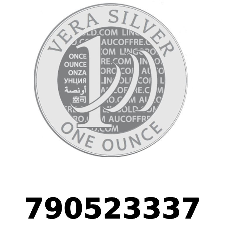 Réf. 790523337 Vera Silver 1 once (LSP - 40MM)  2018 - AVERS