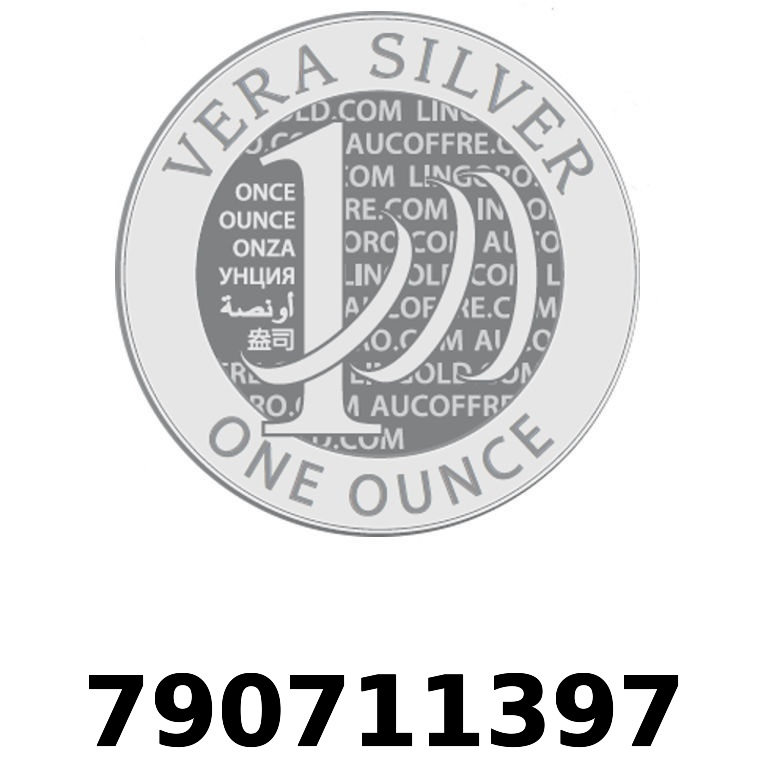 Réf. 790711397 Vera Silver 1 once (LSP - 40MM)  2018 - AVERS