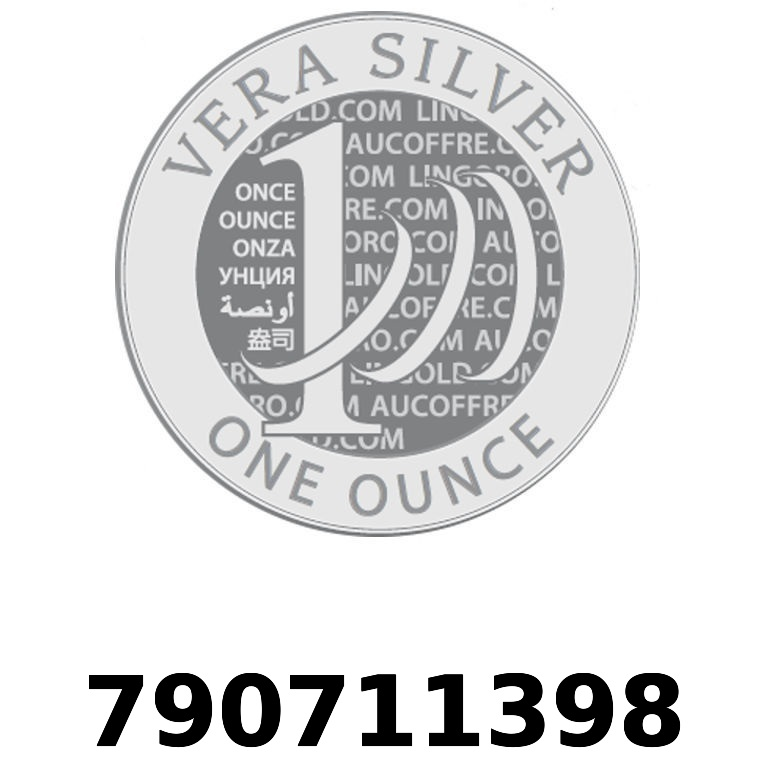 Réf. 790711398 Vera Silver 1 once (LSP - 40MM)  2018 - AVERS