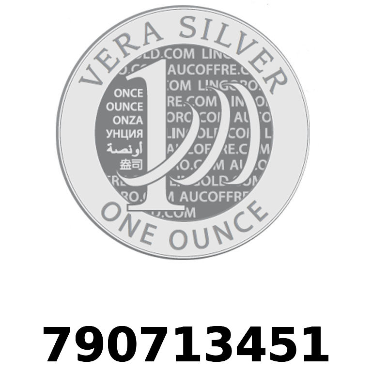 Réf. 790713451 Vera Silver 1 once (LSP - 40MM)  2018 - AVERS