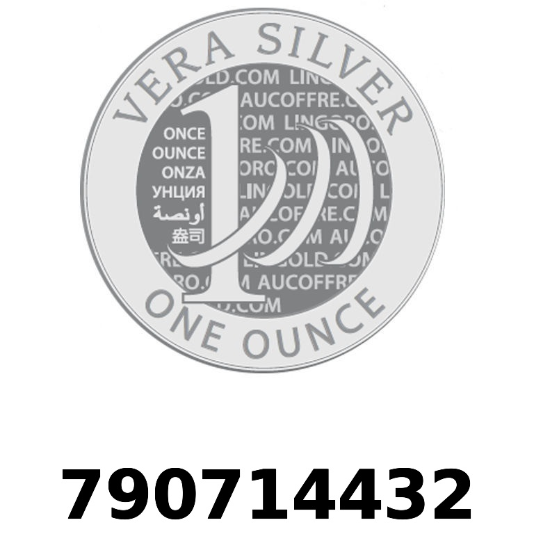 Réf. 790714432 Vera Silver 1 once (LSP)  2018 - AVERS