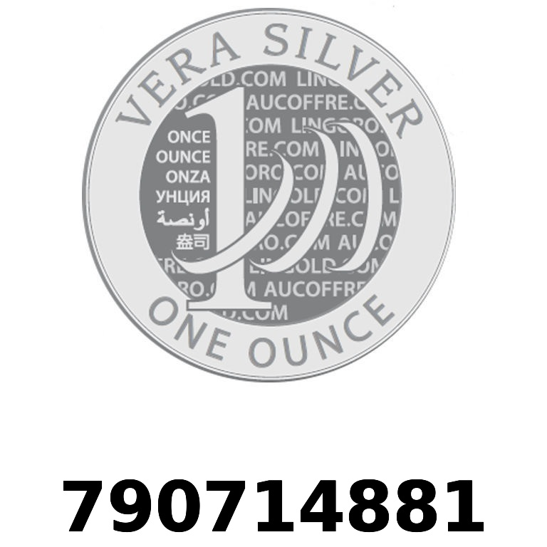 Réf. 790714881 Vera Silver 1 once (LSP - 40MM)  2018 - AVERS