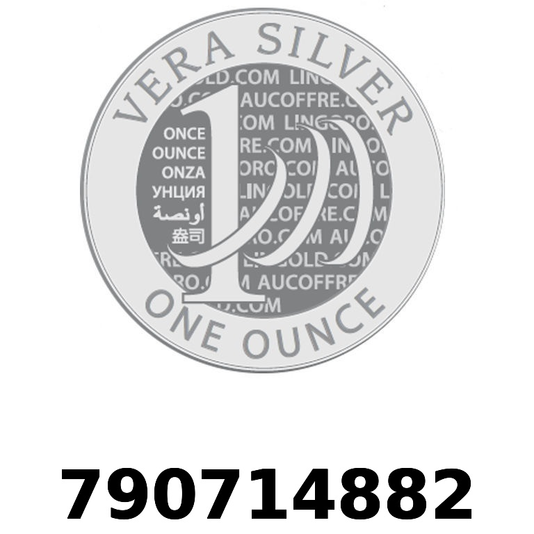 Réf. 790714882 Vera Silver 1 once (LSP - 40MM)  2018 - AVERS