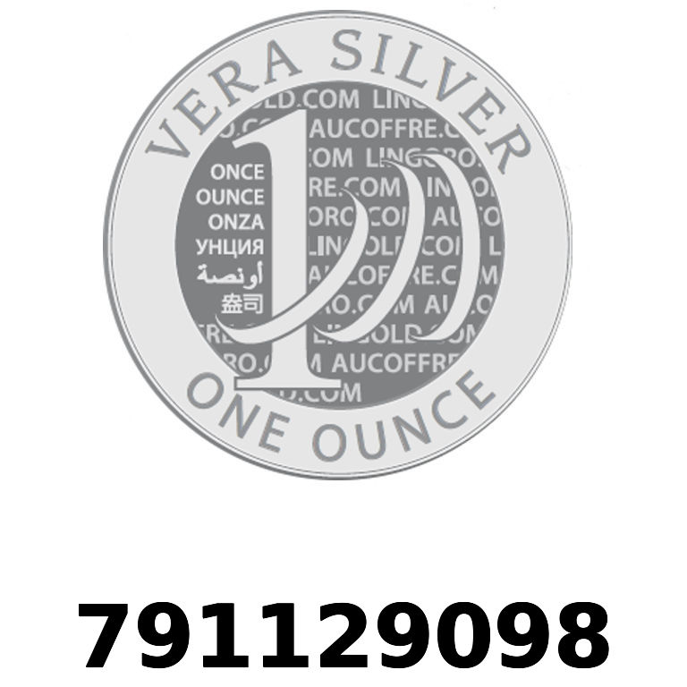 Réf. 791129098 Vera Silver 1 once (LSP)  2018 - AVERS