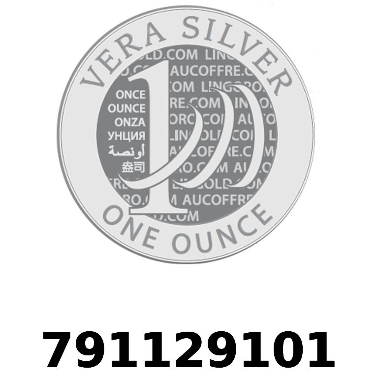 Réf. 791129101 Vera Silver 1 once (LSP)  2018 - AVERS