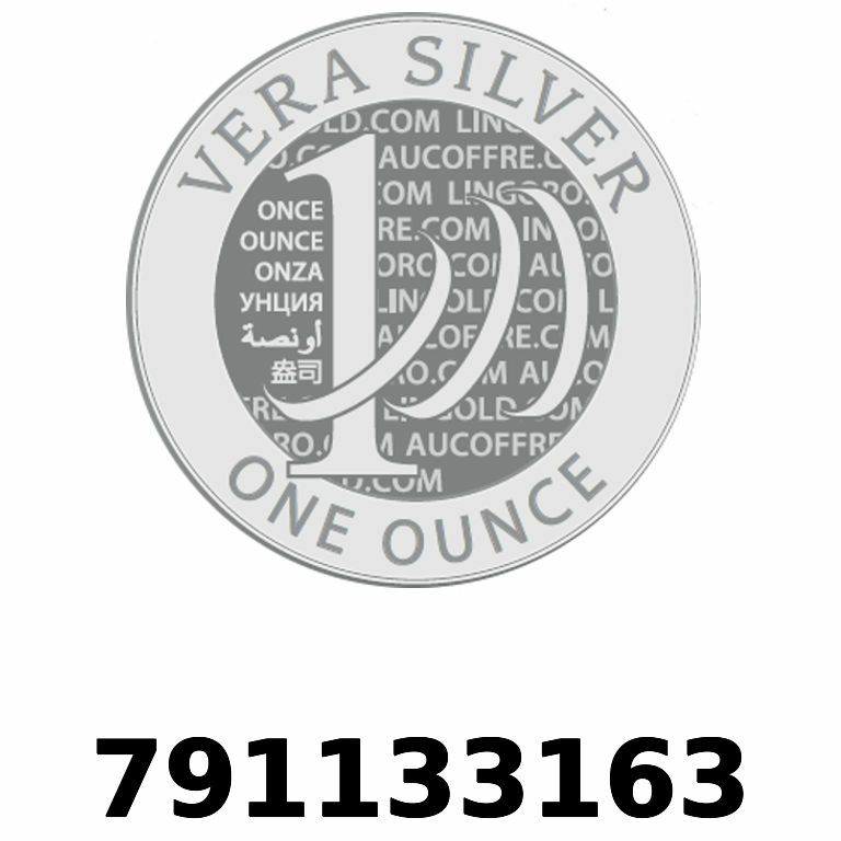Réf. 791133163 Vera Silver 1 once (LSP - 40MM)  2018 - AVERS